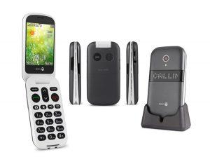 Smartphone Doro 6050 - Testé et Approuvé par les Seniors - AFNOR Certification