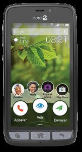 Smartphone Doro pour les seniors