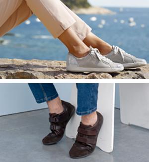 Collection de chaussures confortables